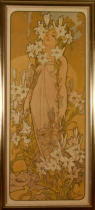 Alfons Maria Mucha - Lily