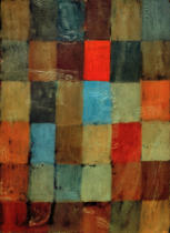 Paul Klee - Harmonie blau=orange