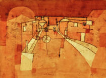 Paul Klee - Road in the Camp
