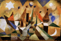 Paul Klee - Sailing boats waiting for the storm to blow over