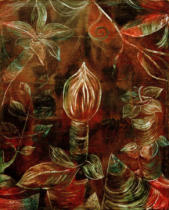Paul Klee - Decorative plant �The Bud'