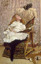 Charles Burton Barber - A Rival Attraction