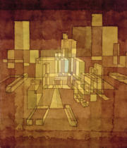 Paul Klee - Stadtperspective