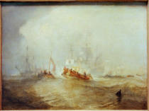 Joseph Mallord William Turner - Landung in Torbay, 1688