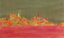 Paul Klee - City with Two Hills