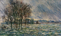 Claude Monet - Flood