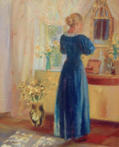 Anna Kristine Ancher - Interieur 1899
