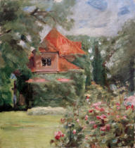 Max Liebermann - Altes Haus in Hamburg