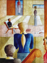 Oskar Schlemmer - Girls' school
