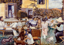 Pierre Bonnard - The Terrace family