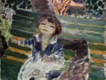 Pierre Bonnard - Little Girl with Dog