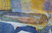 Pierre Bonnard - Akt im Bade