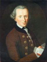 Becker - Kant, Immanuel, Portrait at the age of 44