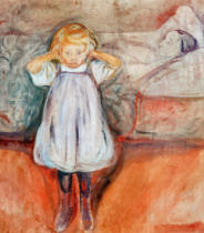 Edvard Munch - Die tote Mutter