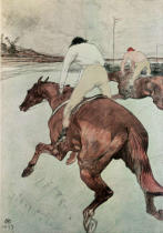 Henri de Toulouse-Lautrec - The Jockey