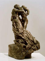 Camille Claudel - The Waltz (Version polychrome plaster)