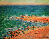 Claude Monet - View of the sea