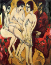 Ernst-Ludwig Kirchner - Judgment of Paris