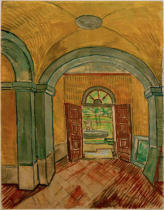 Vincent van Gogh - Vestibule of the Asylum