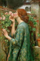 John William Waterhouse - Die Seele der Rose