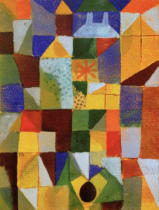 Paul Klee - Urban Composition with Yellow Windows