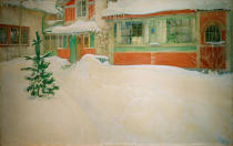 Carl Larsson - Snow