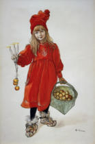 Carl Larsson - Brita as Idun