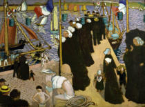 Maurice Denis - Regatta in Perros-Guirec