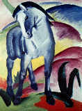 Blue horse I of Franz Marc