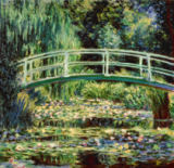 Claude Monet - Les nympheas blancs
