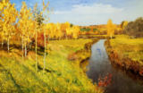 Isaak Iljitsch Lewitan - Goldener Herbst