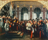 The Proclamation of the German Kaiser of Anton Alexander von Werner
