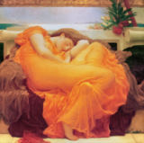 Lord Frederick Leighton - Flaming June