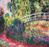 Le Pont japonais of Claude Monet