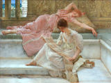 Sir Lawrence Alma-Tadema - A favourite poet