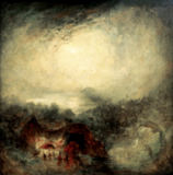 Joseph Mallord William Turner - The Evening of the Deluge