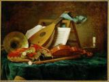 Anne Vallayer-Coster - Instruments de musique