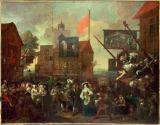 William Hogarth - Southwark Fair
