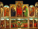 AKG Anonymous - Jan van Eyck / Ghent Altarpiece / 1432