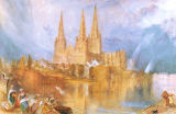 Joseph Mallord William Turner - Lichfield, Staffordshire