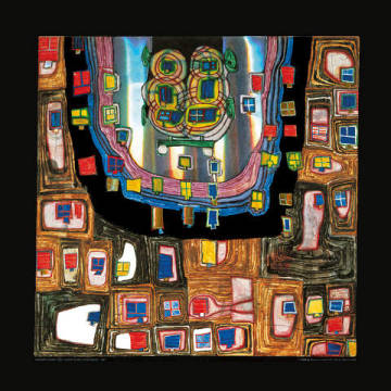 Art Print: Friedensreich Hundertwasser, Birth of a Car