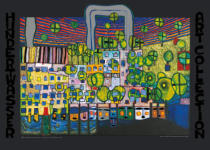 Friedensreich Hundertwasser - L�wengasse - The third skin