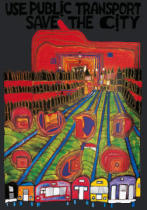 Friedensreich Hundertwasser - Save the City