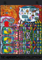 Friedensreich Hundertwasser - Domestic Cat - the Cat of Atlantis