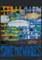 Friedensreich Hundertwasser - Save the Whales