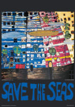 Friedensreich Hundertwasser - Save the Seas