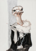 New Life Collection - Ostrich in costume I