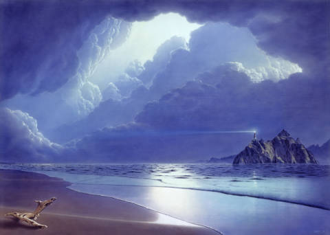 Fine Art Reproduction: Hans-Werner Sahm, Before The Storm