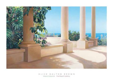 Art Print: Alice Dalton Brown, Island Columns