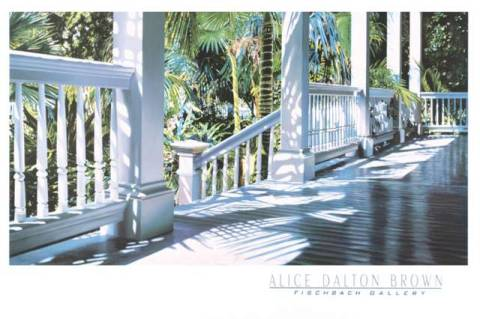 Art Print: Alice Dalton Brown, Patrick's Porch